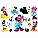 Tatouage enfant Minnie et Mickey