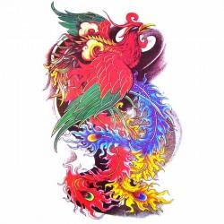 tatouage-ephemere-oiseau-chinois