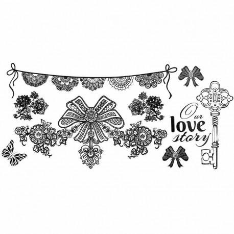 tatouage dentelle tatouage cuisse tatouage ephemere mariage. Black Bedroom Furniture Sets. Home Design Ideas