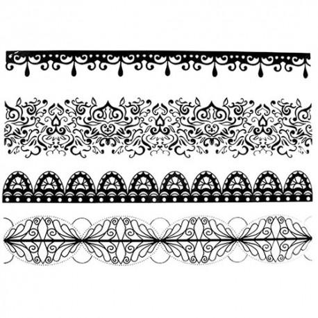 tatouage dentelle jarreti re cuisse tatouage ephemere dentelle cuisse. Black Bedroom Furniture Sets. Home Design Ideas