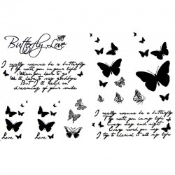 tatouage-ecriture-et-papillons