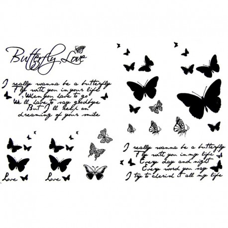 tatouage ecriture tatouage papillon faux tatouage. Black Bedroom Furniture Sets. Home Design Ideas