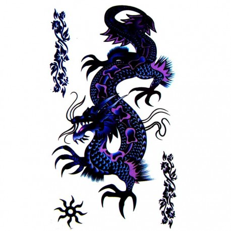 tatouage dragon tatouage ephemere dragon faux tatouage. Black Bedroom Furniture Sets. Home Design Ideas