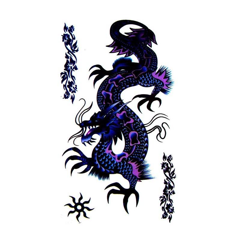 tatouage dragon tatouage ephemere dragon faux tatouage dragon. Black Bedroom Furniture Sets. Home Design Ideas