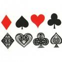 Tatouage carré d'as poker