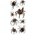 Tatouage araignées multiples