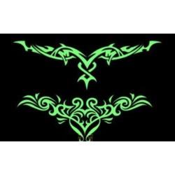 tatouage-temporaire-tribal-phophorescent