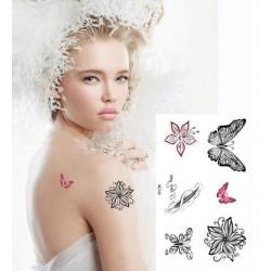 vente tatouage ephemere papillon tatouage temporaire papillon pas cher tempo tattoo. Black Bedroom Furniture Sets. Home Design Ideas
