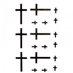 tatouage-ephemere-croix-noire
