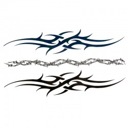 Tatouage-temporaire-tribal-bras