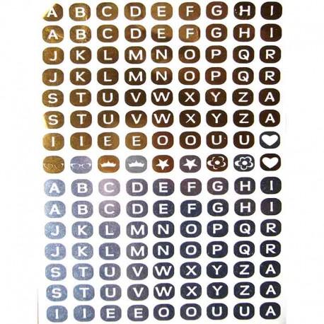 Tatouage-ephemere-lettres-metallique