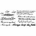 Tatouage temporaire écriture