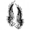 Tatouage temporaire ailes d'ange