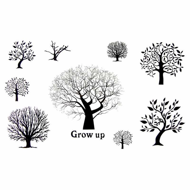 tatouage temporaire arbre ephemere. Black Bedroom Furniture Sets. Home Design Ideas