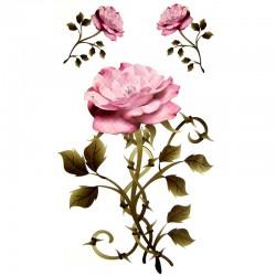 Tatouage-temporaire-roses-rose