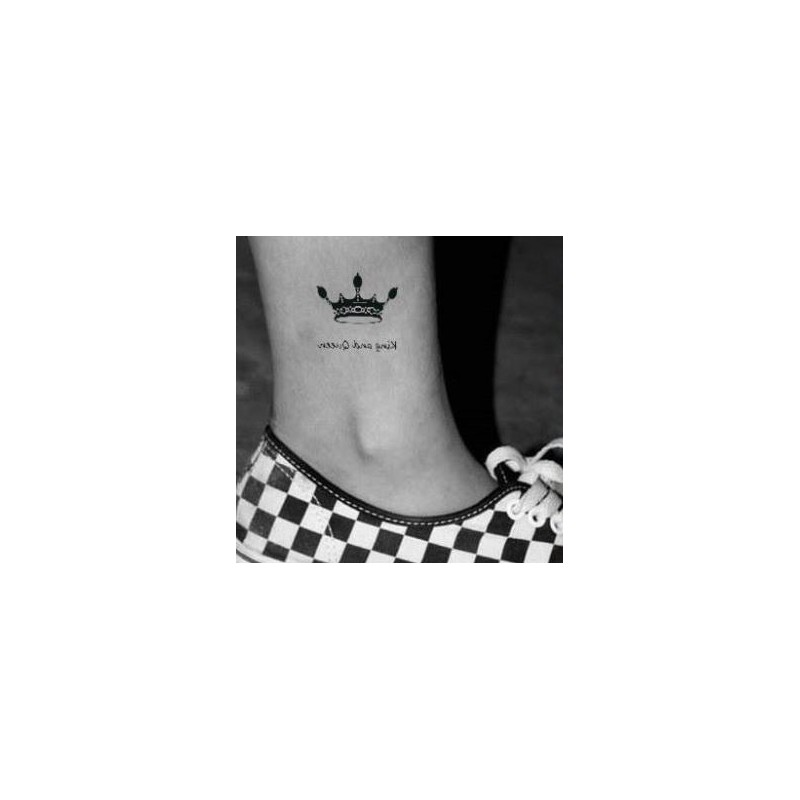Tatouage Temporaire King And Queen