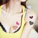 Tatouage éphémère coeur
