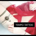 Tatouage éphémère dentelle bracelet