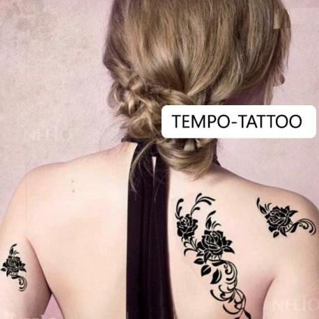 Tatouage-temporaire-rose