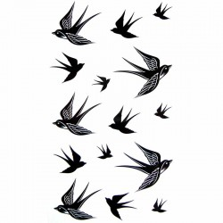 Tatouage-temporaire-hirondelle