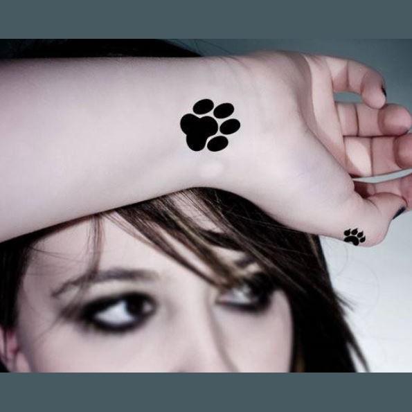 Tatouage Temporaire Pattes De Chat Tempo Tattoo