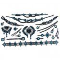 Tatouage temporaire collier et bracelet