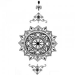Tatouage-ephemere-mandala