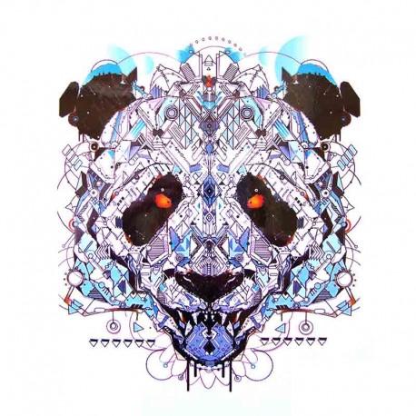 Tatouage-ephemere-panda