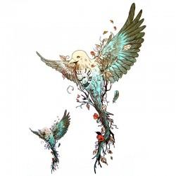 Tatouage-ephemere-oiseau-colibri