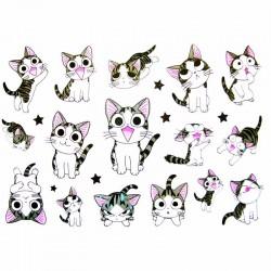 Tatouage-temporaire-enfant-chat