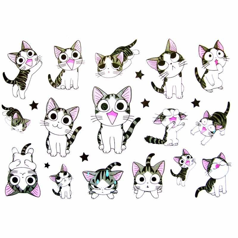 Tatouage enfant tatouage ephemere tatouage temporaire chat