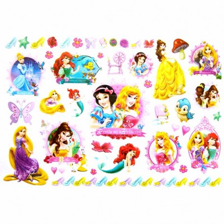Tatouage-enfant-princesses