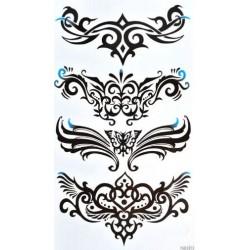 Tatouage-ephemere-tribal-noir