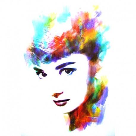 Tatouage-ephemere Audrey Hepburn