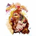 tatouage temporaire portrait femme rêves