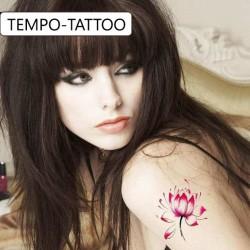 Tatouage-temporaire-fleur-de-lotus-rose
