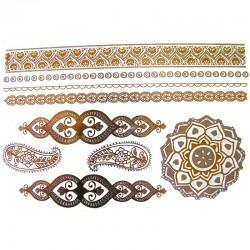 tatouage-temporaire-fleur-de-vie-et-bracelets-metallisee