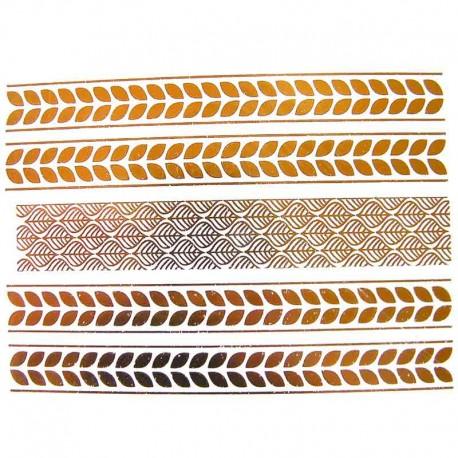 tatouage-temporaire-bracelet-dore-metallise