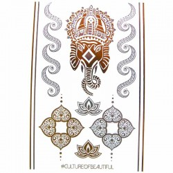 tatouage-ephemere-bijou-metallique-ganesh-et-mandala