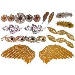 tatouage-temporaire-metallique-ailes-d-ange-et-plume-de-paon