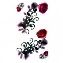Tatouage temporaire rosier 3D
