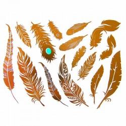 tatouages-bijoux-ephemeres-dore-et-argent-plumes