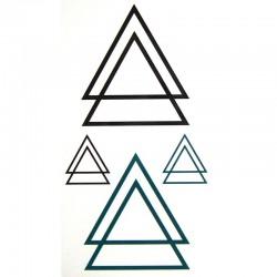 tatouage-temporaire-triangle-geometrique