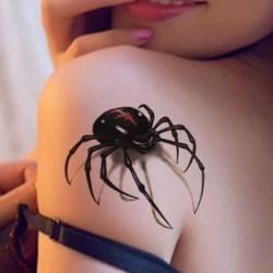tatouage-temporaire-araignee