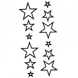 tatouage-ephemere-etoile-noire