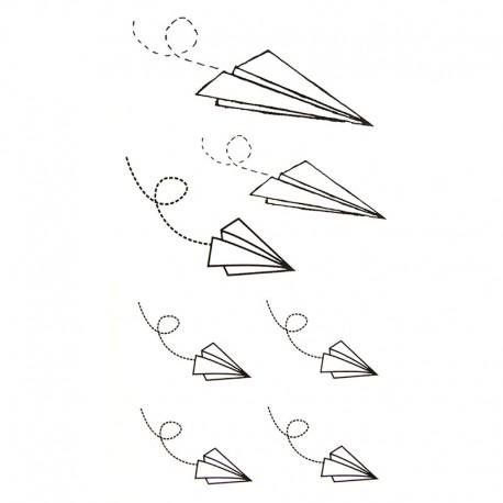 Tatouage Temporaire Et Ephemere Origami
