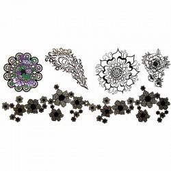 tatouage-ephemere-manchette-fleur