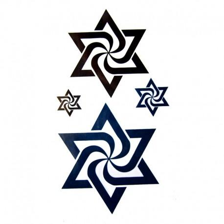 tatouage-ephemere-etoile-spirale