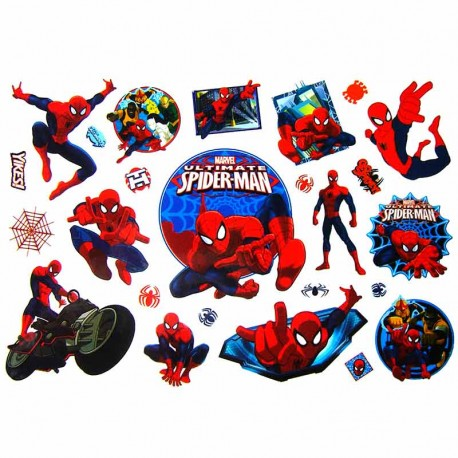 Tatouage-enfant-spiderman