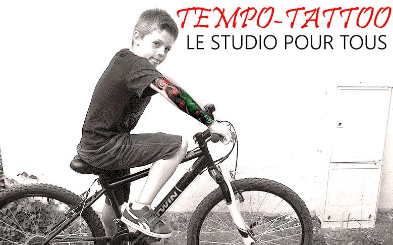 tatouage temporaire pour enfant